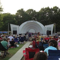 Photo taken at Levitt Shell by Josh H. on 5/23/2013