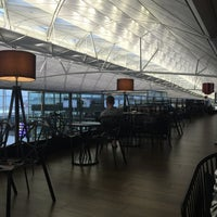 Photo taken at Plaza Premium Lounge (West Hall) by Andrew C. on 5/23/2016