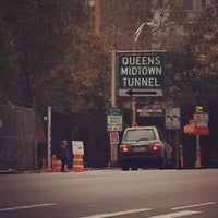 Photo taken at Queens-Midtown Tunnel by Ryan S. on 10/4/2012