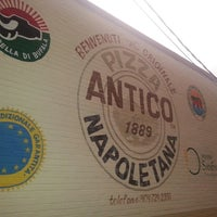 Photo taken at Antico Pizza Napoletana by Samantha on 7/10/2013