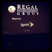 Photo taken at Regal Cinemas Harbour View Grande 16 by Elżbieta M. on 10/10/2012