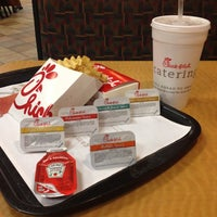 Photo taken at Chick-fil-A Cerritos by Anthony L. on 10/17/2012