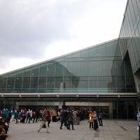 Photo taken at Bibliotheca Alexandrina by Are Neys on 11/24/2012