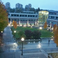 Photo taken at Douglas College (David Lam Campus) by Benny H. on 10/20/2016