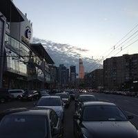 Photo taken at Большая Дорогомиловская улица by Anastasia G. on 8/28/2013