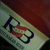 Photo taken at Roti Bakar Eddy by christian on 12/5/2012