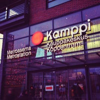 Photo taken at Kauppakeskus Kamppi by Venla A. on 11/24/2012