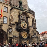 Photo taken at Prague Astronomical Clock by Kevin M. on 9/30/2012