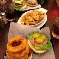 Photo taken at Corner Burger by Morrie N. on 11/18/2012