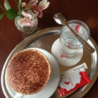 Photo taken at Julius Meinl Coffee House by Peggysue R. on 2/27/2013