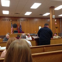 Photo taken at Jefferson County Court House by Tina M. on 3/31/2014