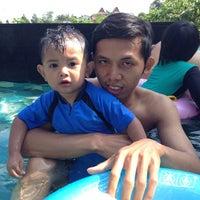 Photo taken at Swimming Pool Bumi CIMB Niaga by Muhammad J. on 3/22/2015