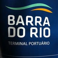 Photo taken at Barra do Rio - Terminal Portuário by Marlon G. on 8/19/2014