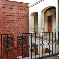 Photo taken at Museo Textil De Oaxaca by Hertzain V. on 4/14/2013