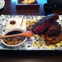 Photo taken at Ödün Restaurante Condesa by Rox C. on 12/22/2012