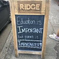 Photo taken at Ridge Pizza by Henry T. on 7/17/2016