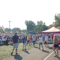 Photo taken at Victory Park by Veronica C. on 9/7/2015