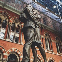 Photo taken at London St Pancras International Eurostar Terminal by Zana F. on 10/7/2012