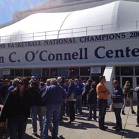 Photo taken at Stephen C O'Connell Center by Chris G. on 3/2/2013