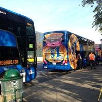 Photo taken at Megabus Terminal - W 34th St & 11 Av by Paula B. on 10/13/2012