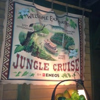 Photo taken at Jungle Cruise by Noriko S. on 5/17/2013