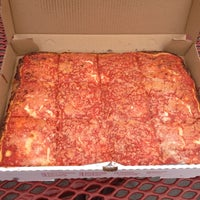 Photo taken at L&B Spumoni Gardens by Vinny P. on 10/8/2012