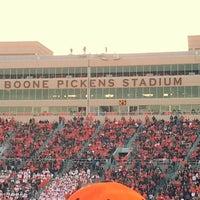 Photo taken at Boone Pickens Stadium by Chris K. on 11/17/2012