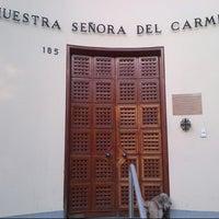 Photo taken at Parroquia Nuestra Señora del Carmen by Gus B. on 4/30/2013