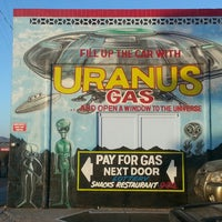 Photo taken at Uranus Gas by Judy M. on 5/31/2013