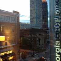 Photo taken at Georgia Tech Hotel and Conference Center by Monty B. on 10/17/2012