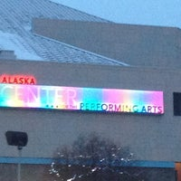 Photo taken at Alaska Center for the Performing Arts by Shaun M. on 1/11/2013