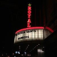 Photo taken at The Royal Cinema by Glenn H. on 1/12/2013