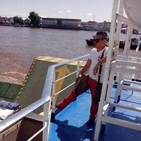 Photo taken at pelampung penyebrangan ferry prima eksekutif by Ardi S. on 5/11/2013