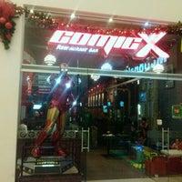 Photo taken at Comicx by Luis Fernando A. on 1/5/2013