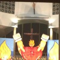 Photo taken at Iglésia De Nuestra Señora Del Pilar by Andrea D. on 3/29/2013