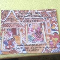 La Biang Thai Massage 42