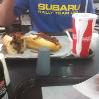 Photo taken at Jim's Steaks by BeckySeef on 10/8/2012