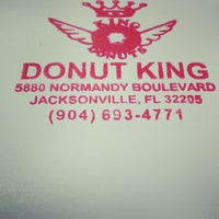 Photo taken at Donut King by James C. on 4/10/2013