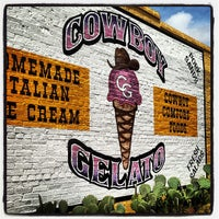 Photo taken at Cowboy Gelato by <3 on 5/11/2013