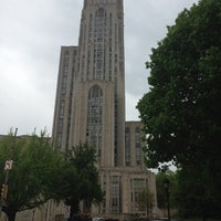 Photo taken at University of Pittsburgh by Dmitri E. on 5/10/2013