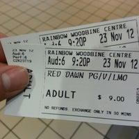Photo taken at Rainbow Cinema Woodbine by Shawn L. on 11/24/2012