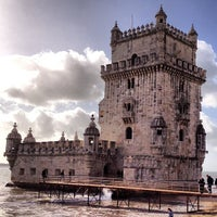 Photo taken at Belém Tower by Fabio S. on 12/29/2012