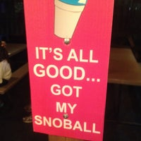 Photo taken at Pelicans Snowballs by Darian H. on 6/12/2014