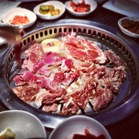 Photo taken at Gen Korean BBQ House by Nathaniel K. on 3/27/2013