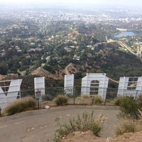 Photo taken at Hollywood Sign by Seulki J. on 5/27/2013