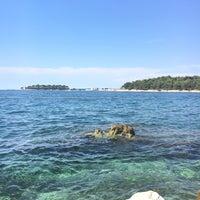 Photo taken at Zelena Laguna by Solenn B. on 7/5/2017