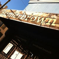 Photo taken at Farmer Brown by Street S. on 10/28/2012