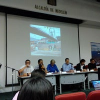 Photo taken at Auditorio Guillermo Cano - Alcaldía de Medellín by Sury G. on 3/28/2014