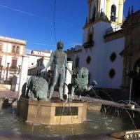 Photo taken at Plaza de Toros de Ronda by Mazen M. on 1/12/2013