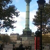 Photo taken at Café Bastille by Dmytro I. on 10/27/2012